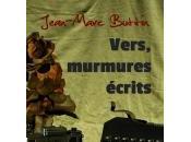 Vers, murmures écrits, Jean-Marc Buttin