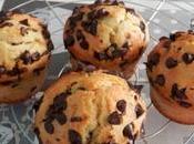 Muffins américains pépites chocolat