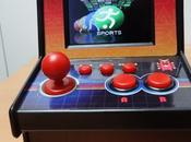 Test mini borne d'arcade multicade