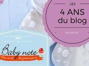 blog diversification alimentaire, étape rigolote avec Babynote