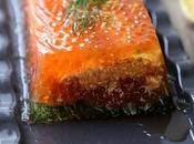 Terrine saumon gelée l'aneth