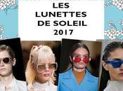tendances lunettes soleil 2017