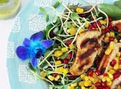 #PouletCA Salade poulet grillé d'inspiration printannière