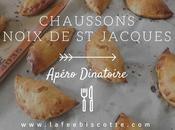 Chaussons noix Jacques {Apéro dînatoire}
