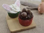 Décorer cupcakes Pâques