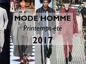 tendances mode masculine printemps-été 2017