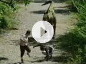 Rémi Gaillard tyrannosaure Tarzan sème trouble Reportage videos