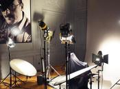 Dans studio Harcourt avec Panasonic
