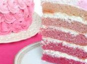 Layer Cake Rose avec Thermomix