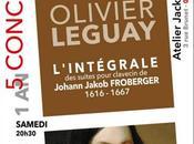 samedi soir avril Oyonnax troisième concert l'intégrale Froberger l'atelier Jacki Maréchal