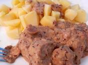 Filet mignon porc Muscat Moutarde l'ancienne