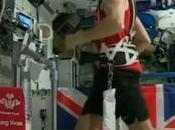 astronaute britannique participé marathon Londres depuis l'espace