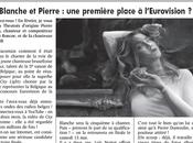 Pierre Dumoulin, chanteur Roscoe, Blanche, l'Eurovision.