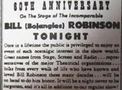 April 1946: come celebrate Bojangles's 60th anniversary show business