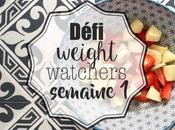 Défi Weight Watchers semaine