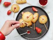 pops {mini tartes sucettes} fraise