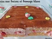 Tiramisu fraises fromage blanc