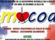 Journée artistique solidarité Manos Tendida Mocoa dimanche 2017