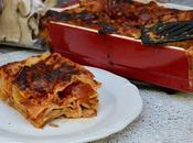 Lasagnes cèpes tomates
