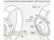 Apple Watch Samsung Gear bientôt capteur photo pour selfies