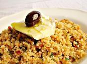 Salade semoule entre salade grecque taboulé
