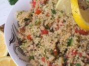 Taboulé quinoa très facile, bas, sans gluten