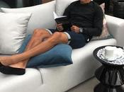 Cristiano Ronaldo détendu chez