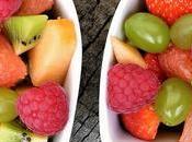 Salade fruits d'été vert
