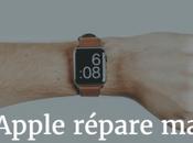 Apple Watch s'est cassée