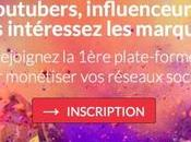 Influence4brands plate-forme pour influenceurs