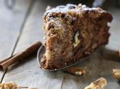 Crumble Banana bread moelleux noix