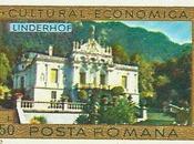 château Linderhof dans timbres roumains