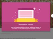 Créer site avec Google Business