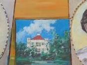 Ludwig, Sisi château Possenhofen, peinture naïve