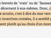 Copié-collé Traitement Mélenchon/Macron Monde Kurt Belge