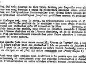 Lettre Père Dubarle 1964