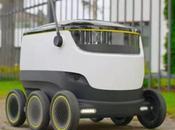 Starship Technologies robots livreurs débarquent ville