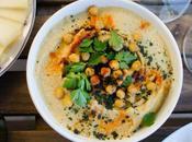 Houmous libanais (crème pois chiches sésame)