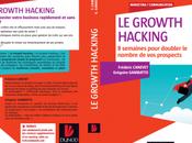"""Avant Première couverture livre Growth Hacking"""" publié chez Dunod"""