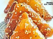 Triangles Briouates amandes