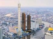 Bientôt Bangkok, contempler cité anges mètres haut