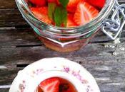 vert parfumé fraises, lime menthe