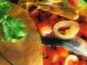 Tarte tomates fraîches anchois frais