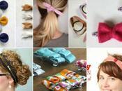 idées coudre pour s'attacher cheveux