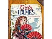 Serena Blasco enquêtes d'Enola Holmes (BD) secret l'éventail