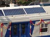 L'Inde dévoile premier train solaire