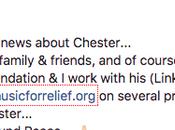 Carnet noir Chester Bennington #chesterbennington #linkinpark