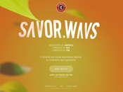 voilà super idée Chipotle lance SAVOR.WAVS,...