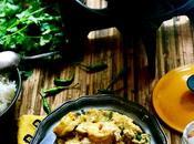 Curry poulet crevettes lait coco, recette fait voyager
