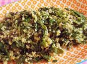 Cocotte Vegan complète Boulgour, Kale, Blettes, Epinards d'Asie lentilles caviar